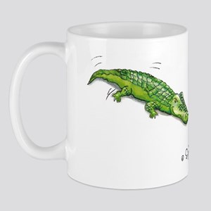 Croc 'n Chick Mug by Sophie Turrel